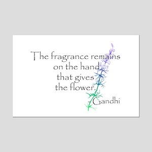 Gandhi Quote Mini Poster Print