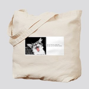 Wild Cat-And-Quote Tote Bag