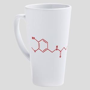 Chili Capsaicin Molecular Chemical Formula 17 oz L