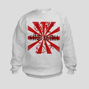 Red Saudi Arabia Kids Sweatshirt