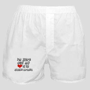 my hearts in Saudi Arabia Boxer Shorts