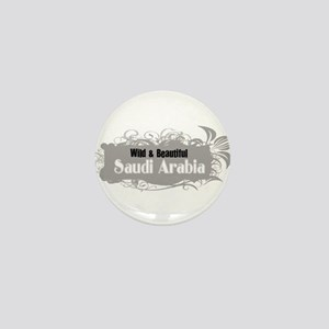 Wild Saudi Arabia Mini Button
