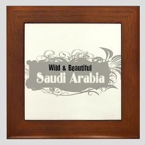 Wild Saudi Arabia Framed Tile