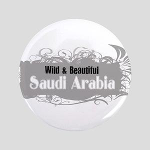"Wild Saudi Arabia 3.5"" Button"