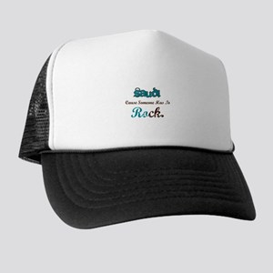 Saudi Rocks Trucker Hat