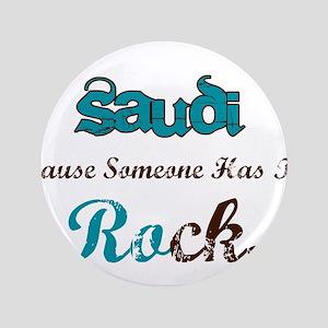 "Saudi Rocks 3.5"" Button"