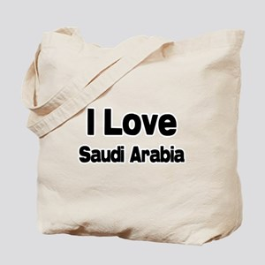 I love Saudi Arabia Tote Bag