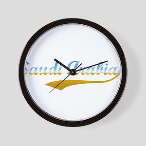 Saudi Arabia beach flanger Wall Clock