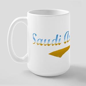 Saudi Arabia beach flanger Large Mug