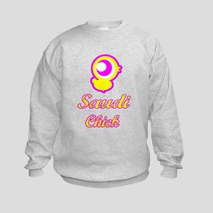 Saudi Chick Kids Sweatshirt