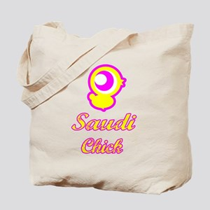 Saudi Chick Tote Bag