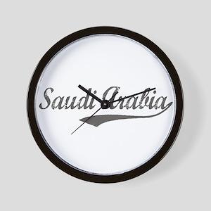Saudi Arabia flanger Wall Clock