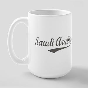 Saudi Arabia flanger Large Mug