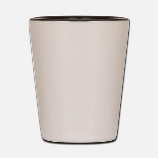 Cute I love aruba Shot Glass
