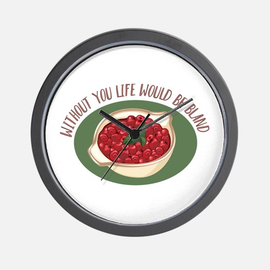 Without You Wall Clock