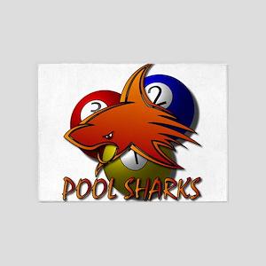 Pool Sharks 5'x7'Area Rug