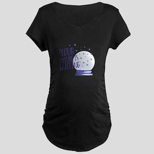 Future Is Waiting Maternity T-Shirt