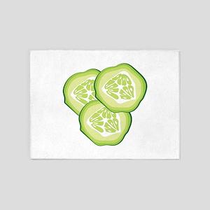Cucumbers 5'x7'Area Rug