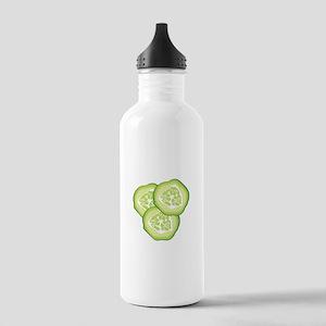 Cucumbers Water Bottle