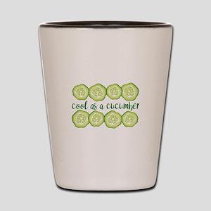 Cool Cucumber Shot Glass
