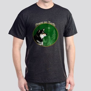 Shiba(blk) Peace Dark T-Shirt