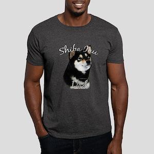 Shiba(blk) Dad2 Dark T-Shirt