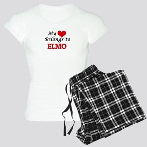 My heart belongs to Elmo Women's Light Pajamas
