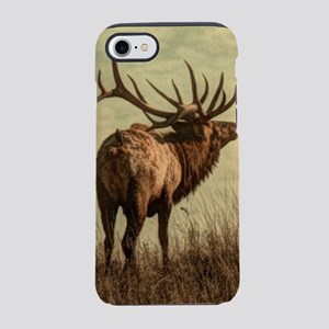 rustic western wild elk iPhone 8/7 Tough Case