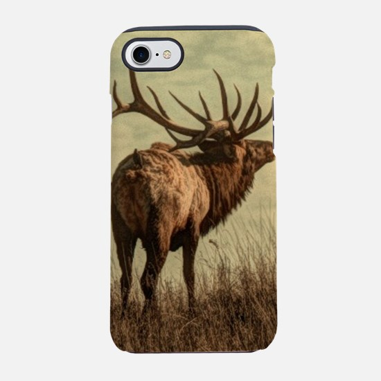 rustic western wild elk iPhone 8/7 Tough Case