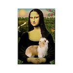 Mona/Puff Rectangle Magnet