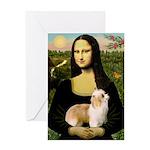 Mona/Puff Greeting Card