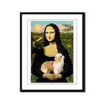 Mona/Puff Framed Panel Print