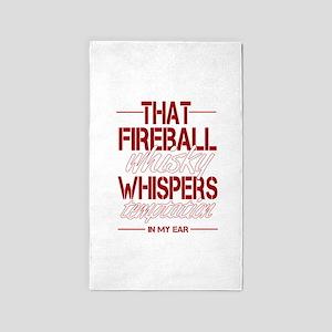 Fireball Whisky Area Rug
