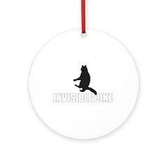OH HAI!!!1! LOL CATS! INVISIB Ornament (Round)