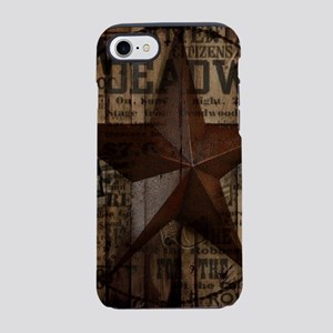 primitive texas lone star iPhone 8/7 Tough Case