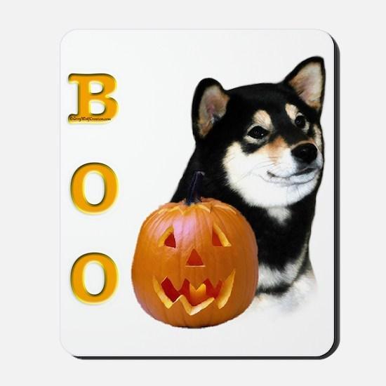 Shiba(blk) Boo Mousepad