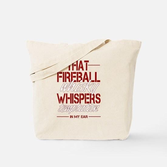 Fireball Whisky Tote Bag