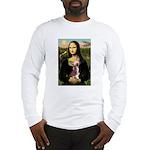 Mona / C Crested(HL) Long Sleeve T-Shirt