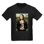 Mona / C Crested(HL) Kids Dark T-Shirt