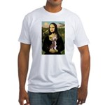 Mona / C Crested(HL) Fitted T-Shirt