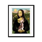 Mona / C Crested(HL) Framed Panel Print
