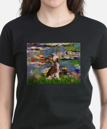 Lilies / C Crested(HL) Women's Dark T-Shirt