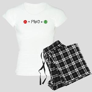 Plus Piwo Equals Happy Face Pajamas