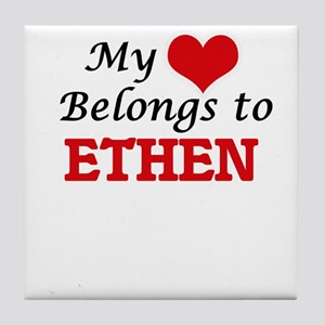 My heart belongs to Ethen Tile Coaster