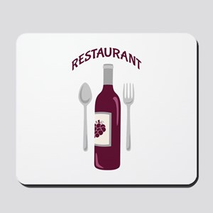 Restaurant Wine Mousepad