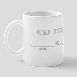 MAKE UR OWN LOLCAT! Mug