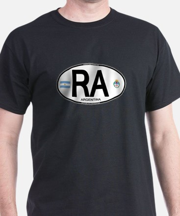 Argentina Euro Oval T-Shirt
