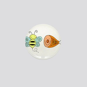 Bee Ham Birmingham Alabama Mini Button