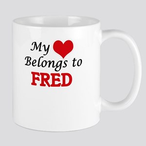 My heart belongs to Fred Mugs