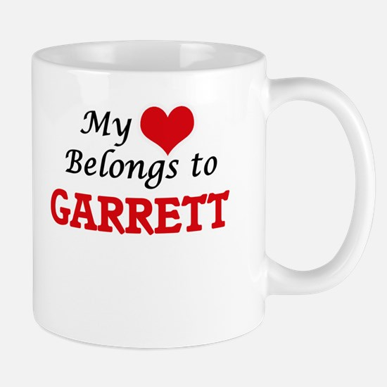 My heart belongs to Garrett Mugs